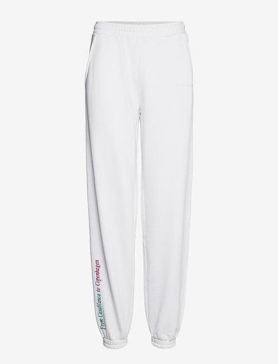 Casablanca Sweat Pants - kleding - white