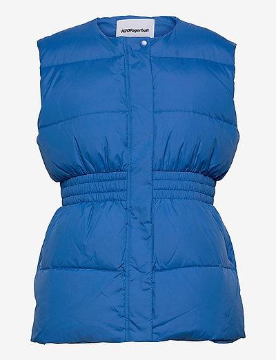 Azraq West - puffer vests - electro blue