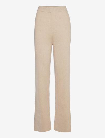 Murih Pants - vide bukser - camel