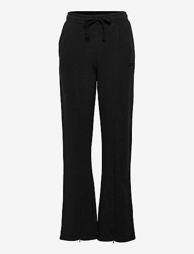 Airport Sweat Pants - vide bukser - black