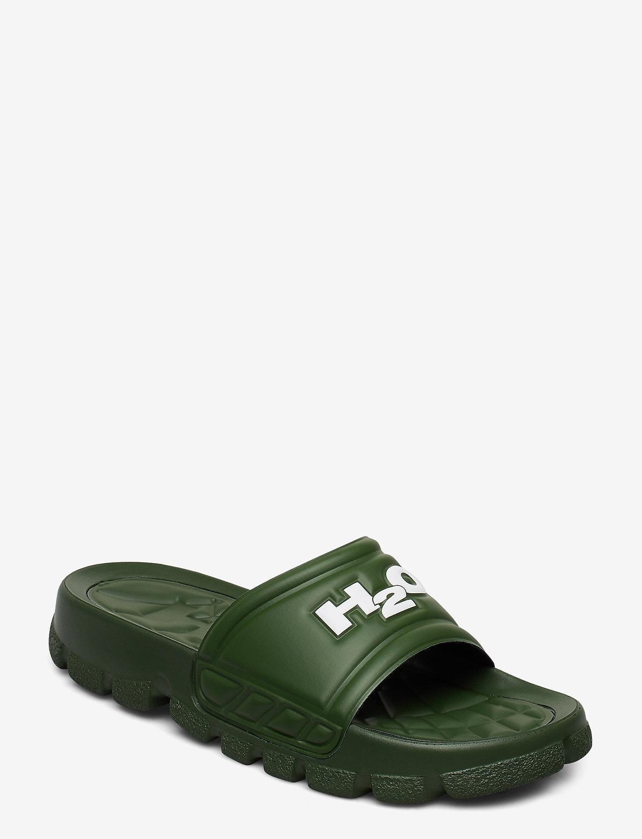 H2O - Trek Sandal - pool sliders - kale - 0