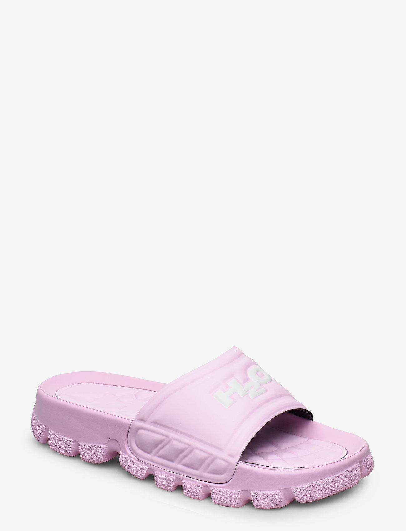 H2O - Trek Sandal - pool sliders - light pink/white - 0