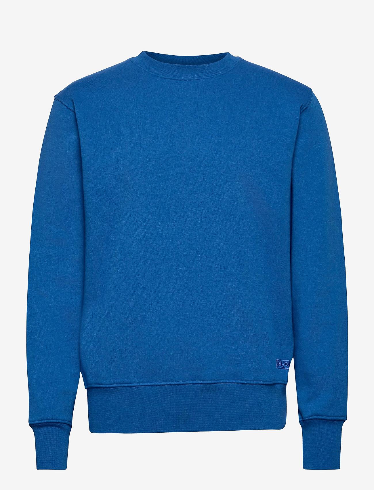 H2O - Couch Sweat O'neck - basic sweatshirts - cobalt blue - 0