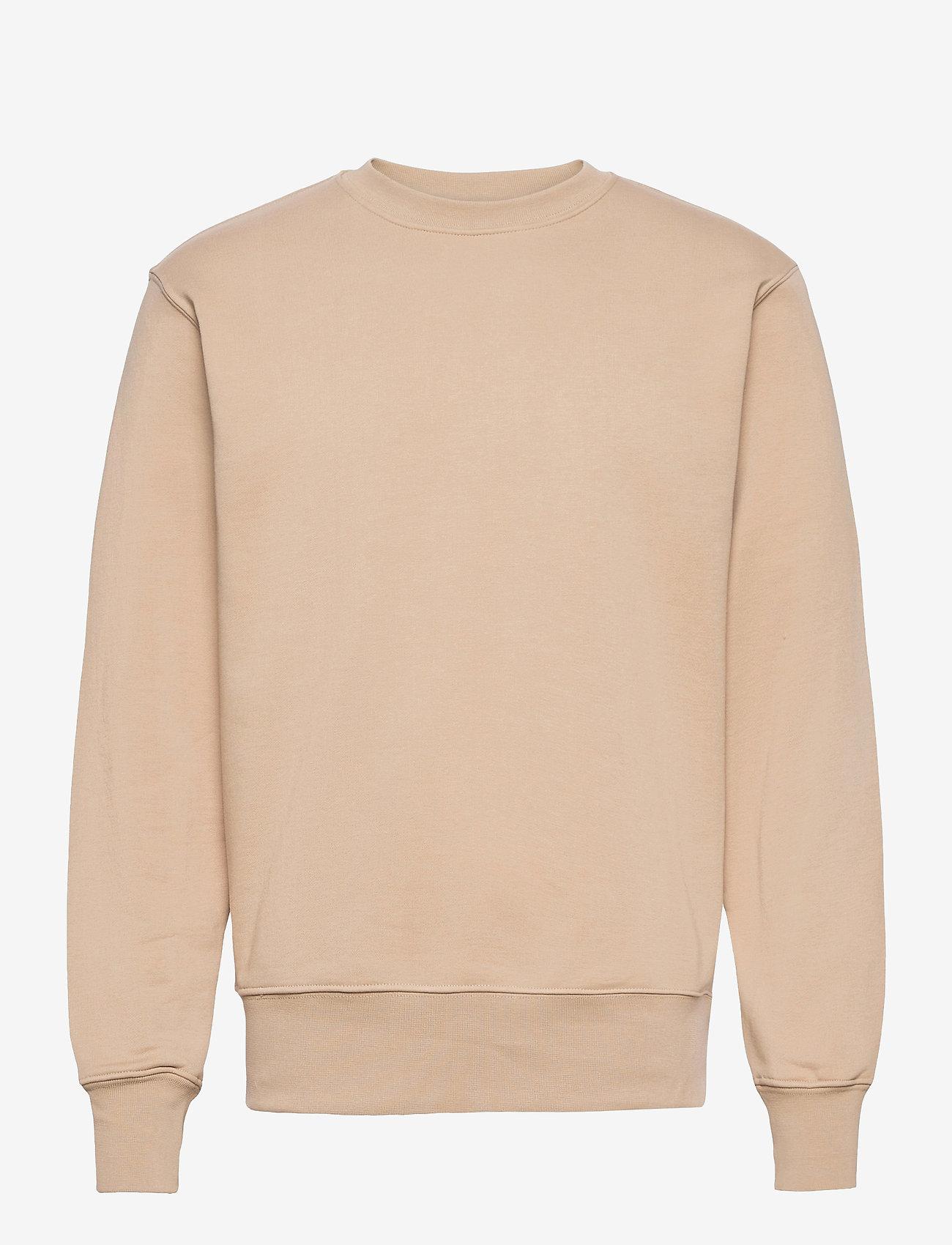H2O - Couch Sweat O'neck - basic sweatshirts - khaki - 0