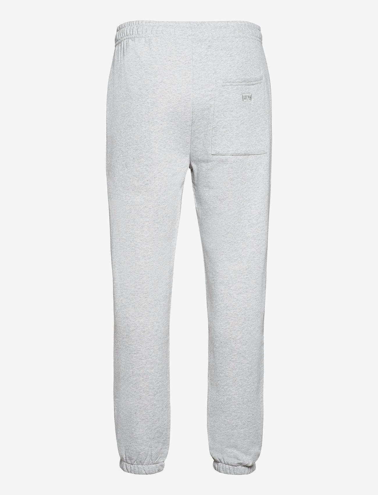 H2O - Couch Sweat Pants - tøj - lt. grey mel - 1