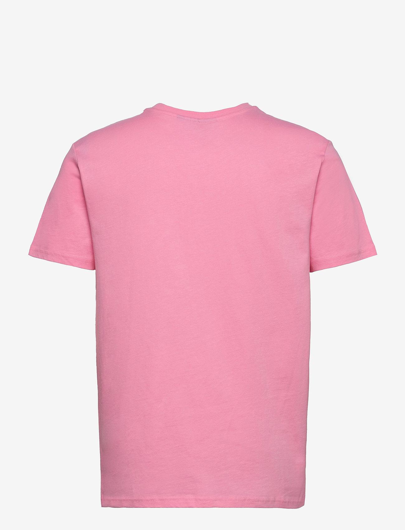 H2O - Lyø Organic Tee - perus t-paidat - sachet pink/dark grey - 1