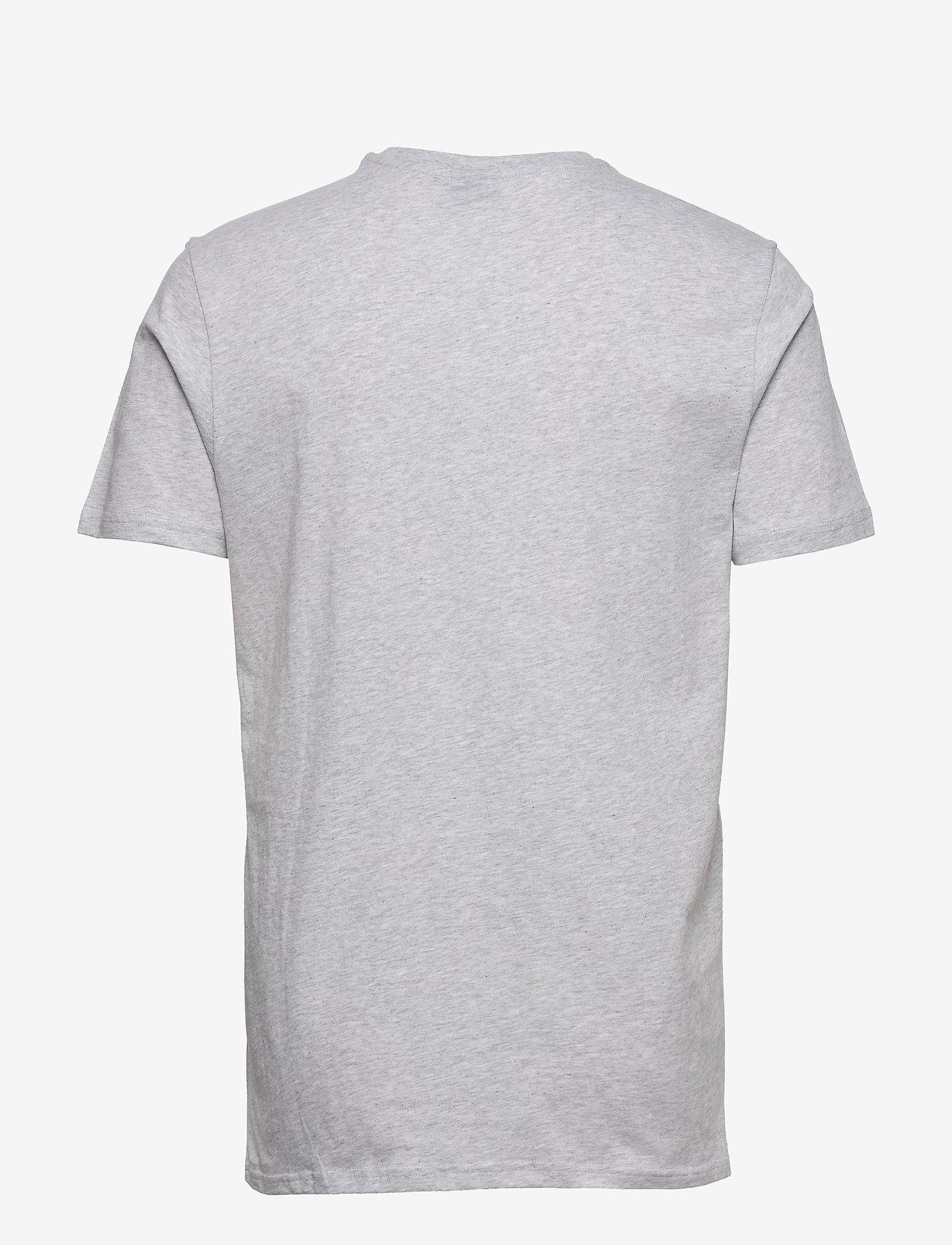 H2O - Gilleleje Tee - kortærmede t-shirts - lt. grey mel/green/red/navy - 1
