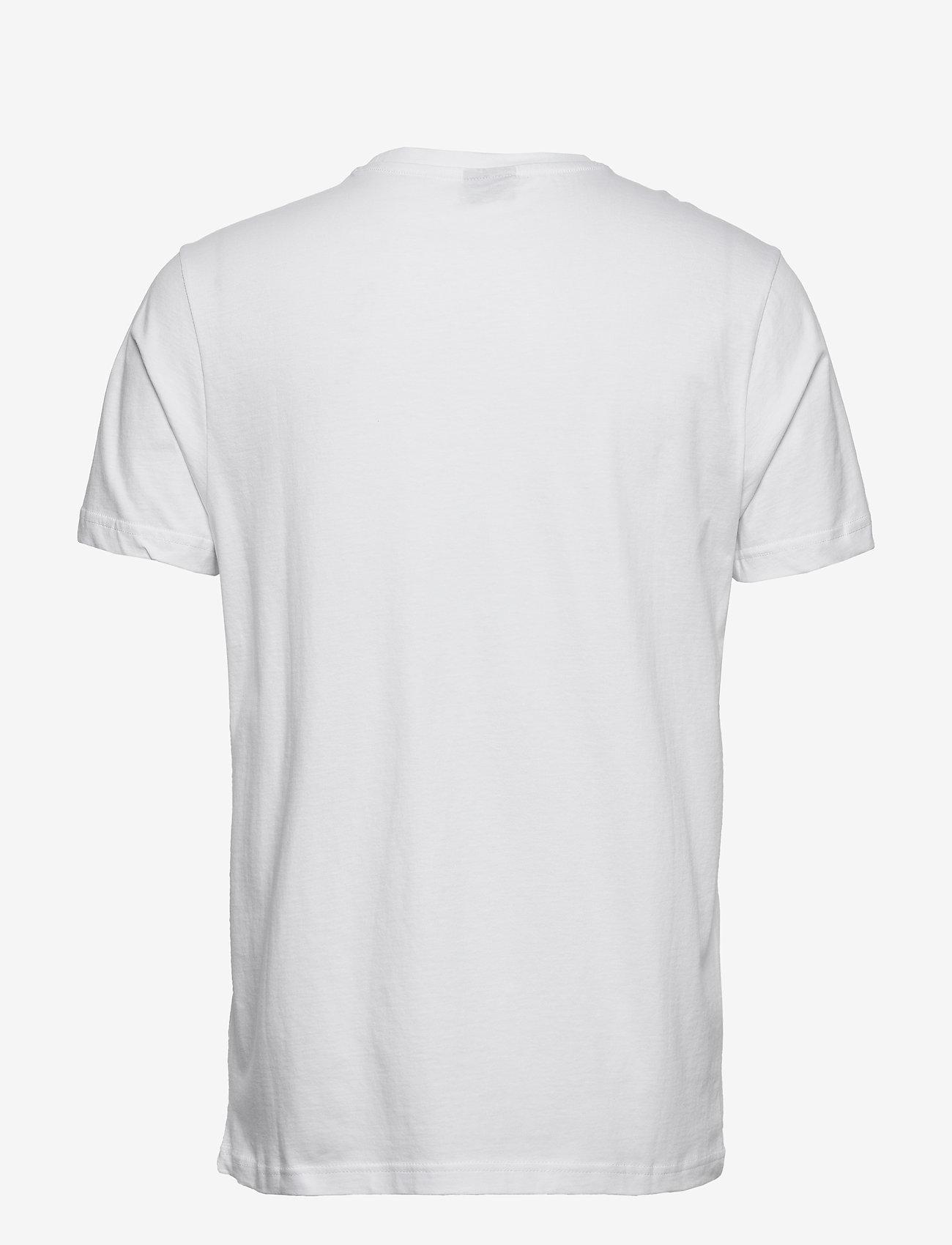 H2O - Gilleleje Tee - kortærmede t-shirts - white/green/red/navy - 1