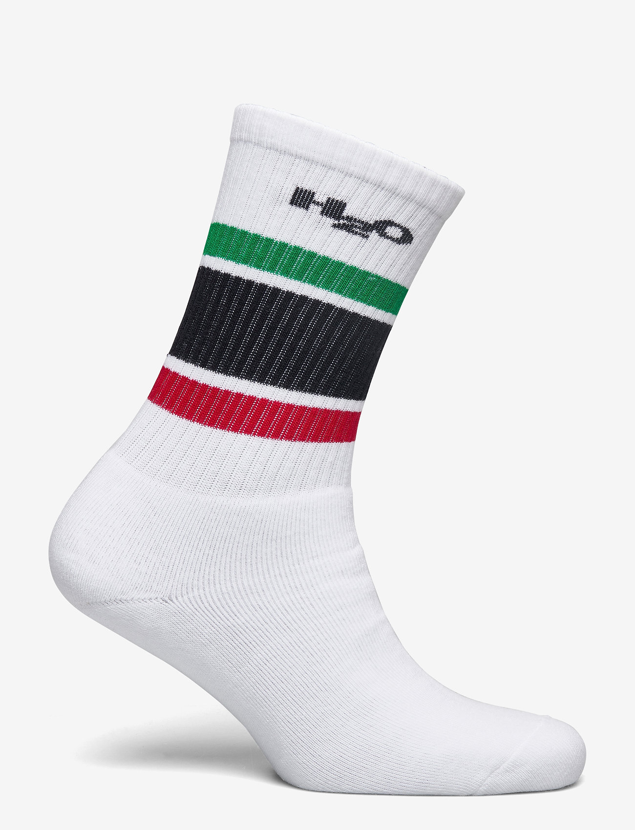 H2O - Crew Sock - tavalliset sukat - white/green/red/navy - 1
