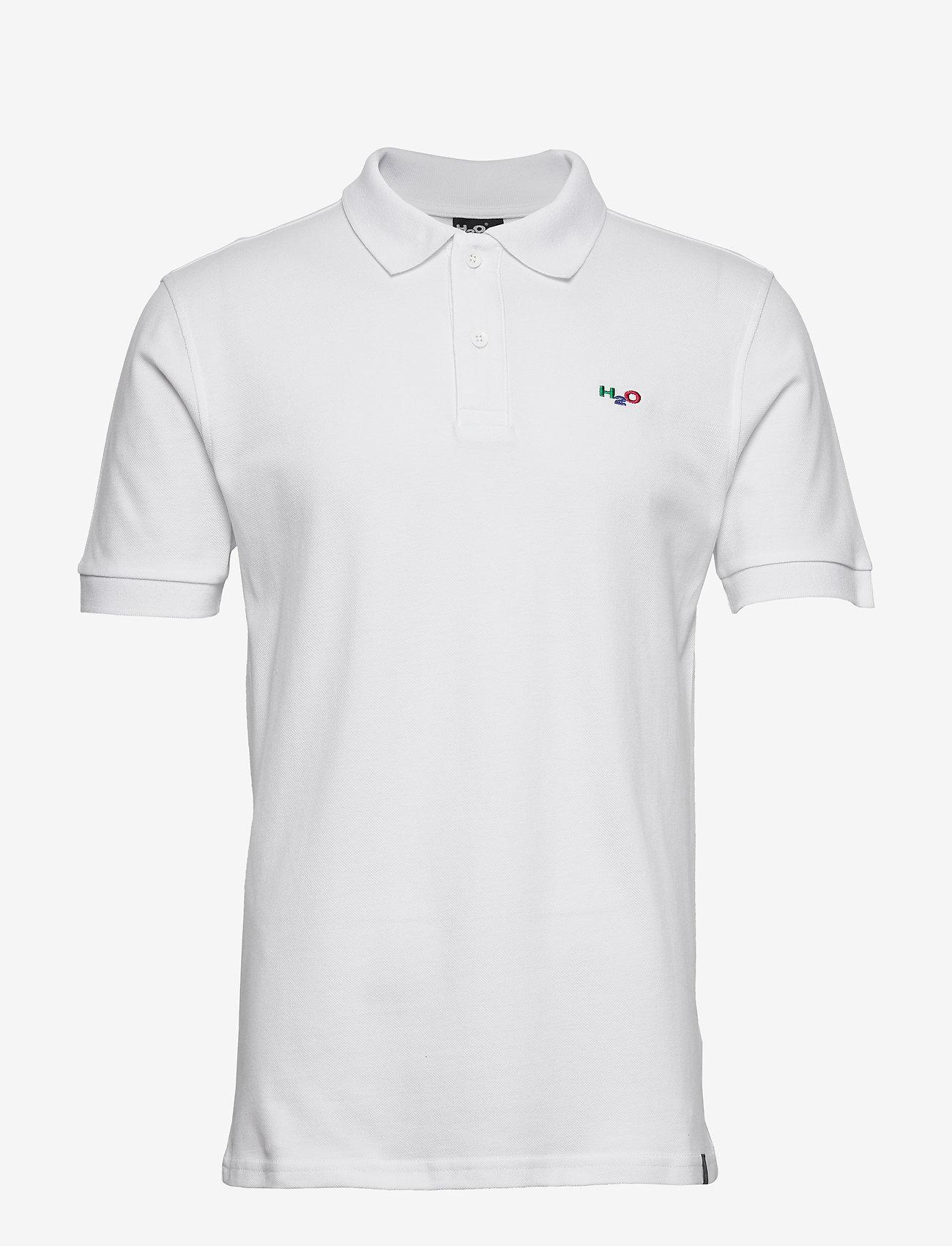 H2O - Lind Polo Shirt - lyhythihaiset - white - 0