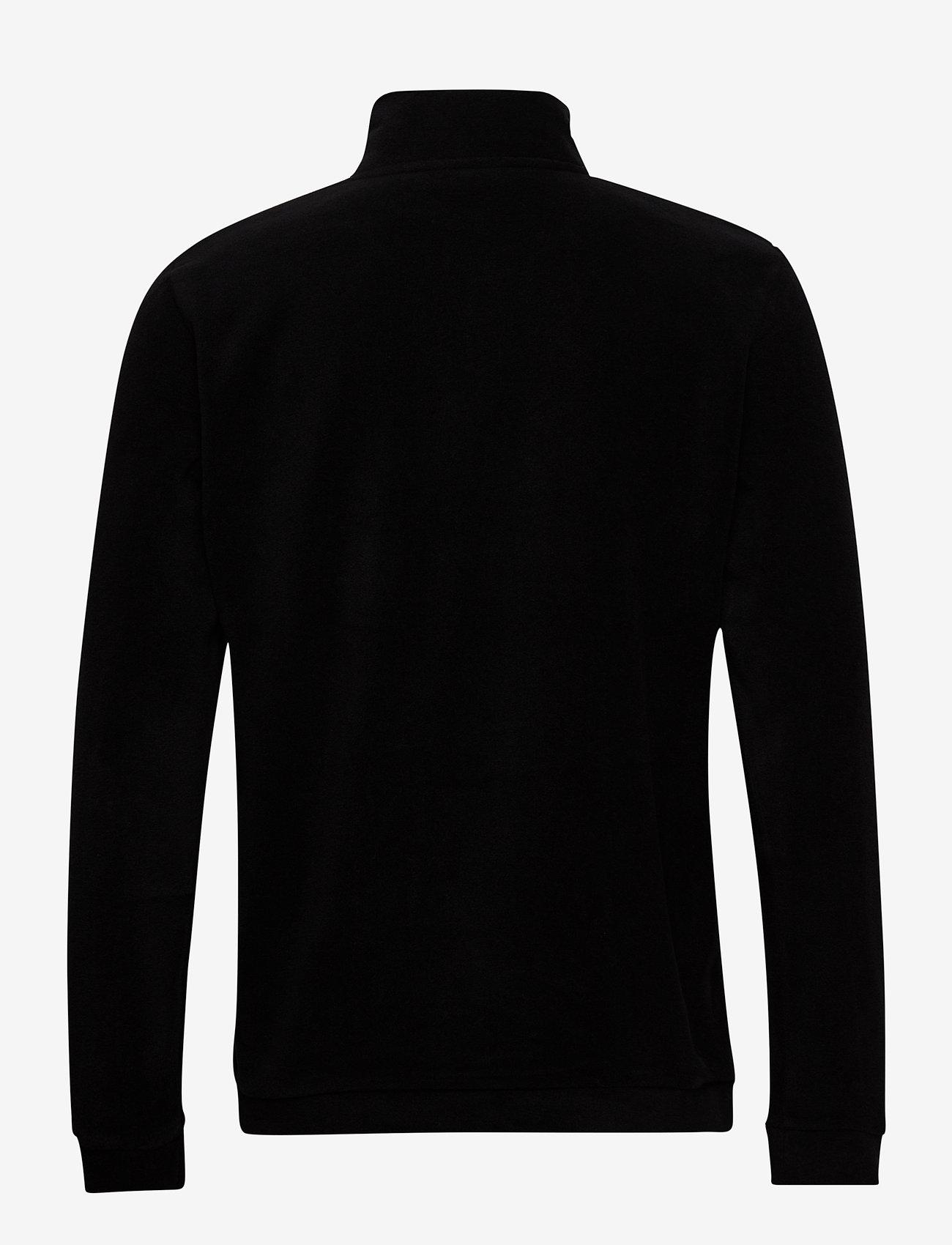 H2O - Blåvand II Fleece Half Zip - yläosat - black - 1