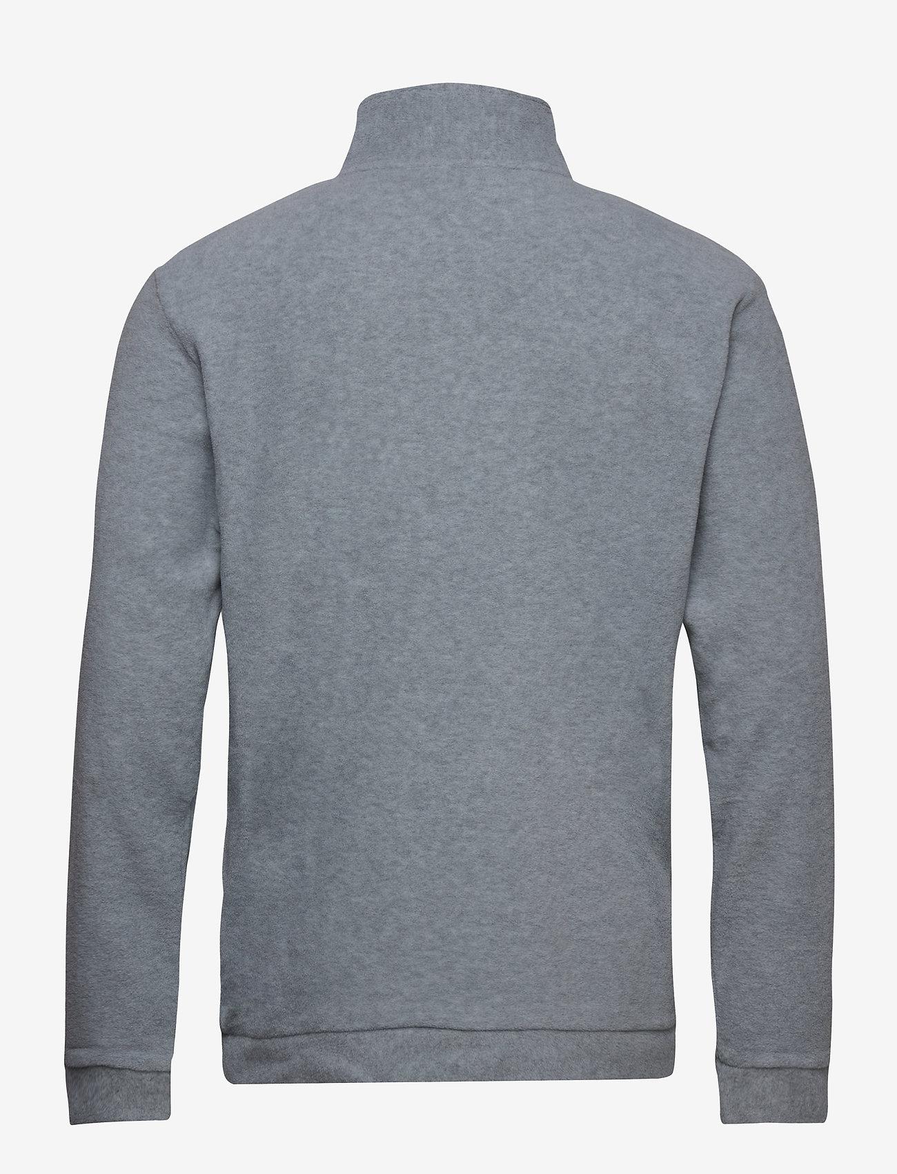 H2O - Blåvand Fleece Half Zip - lange mouwen - lt. grey mel - 1