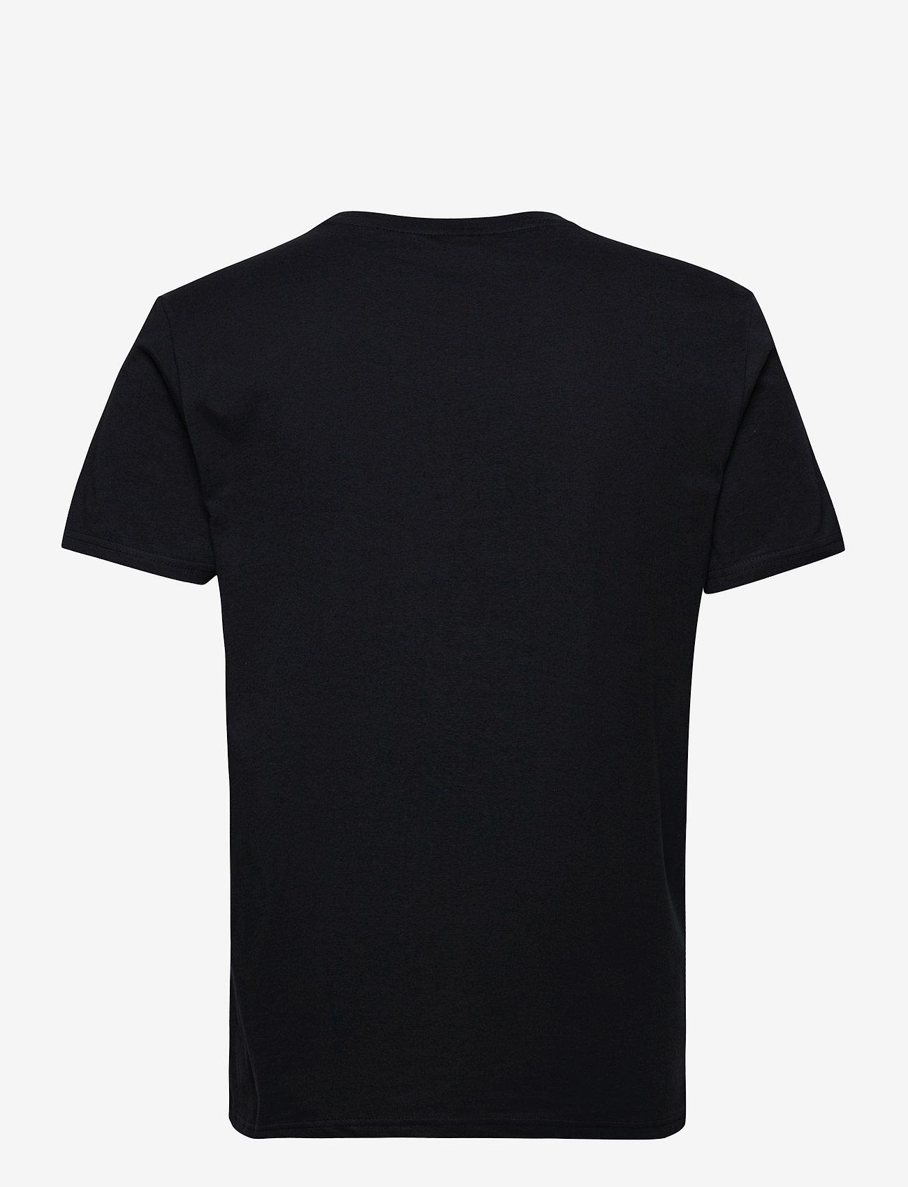 H2O - Skagen Tee - kortærmede t-shirts - navy/white/col. - 1