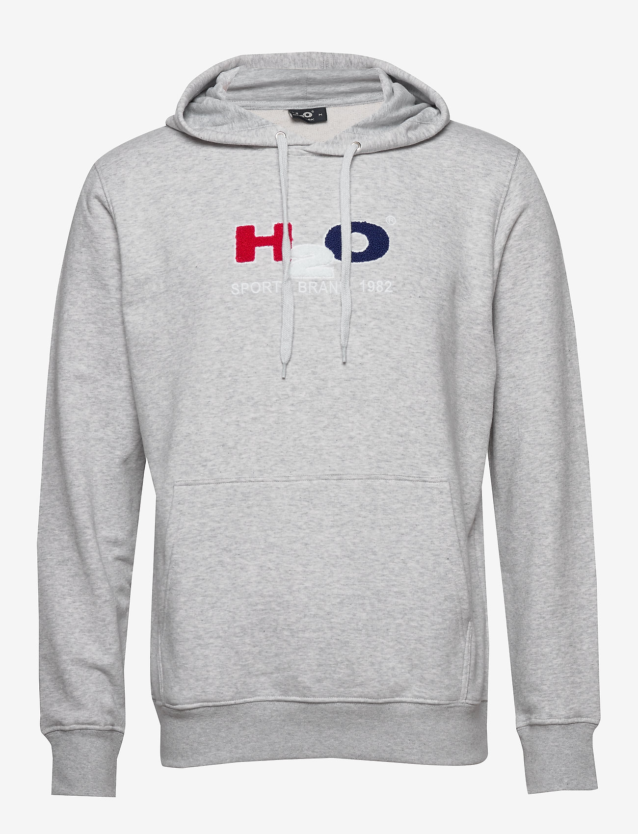 H2O - Absalon Hooded Sweat - hættetrøjer - lt. grey mel - 0