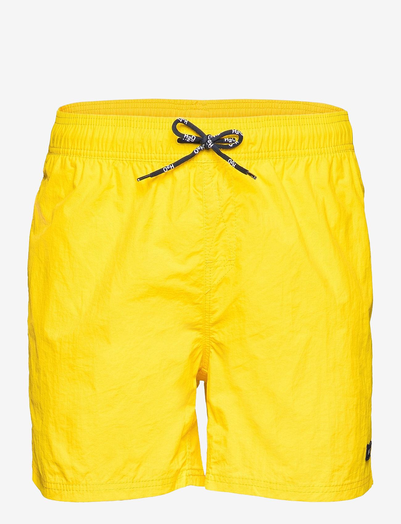 H2O - Leisure Swim Shorts - uimashortsit - citron - 0