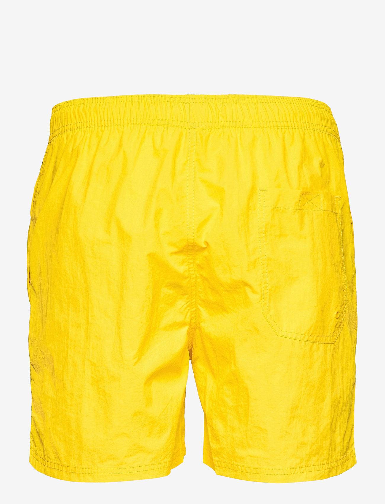 H2O - Leisure Swim Shorts - uimashortsit - citron - 1