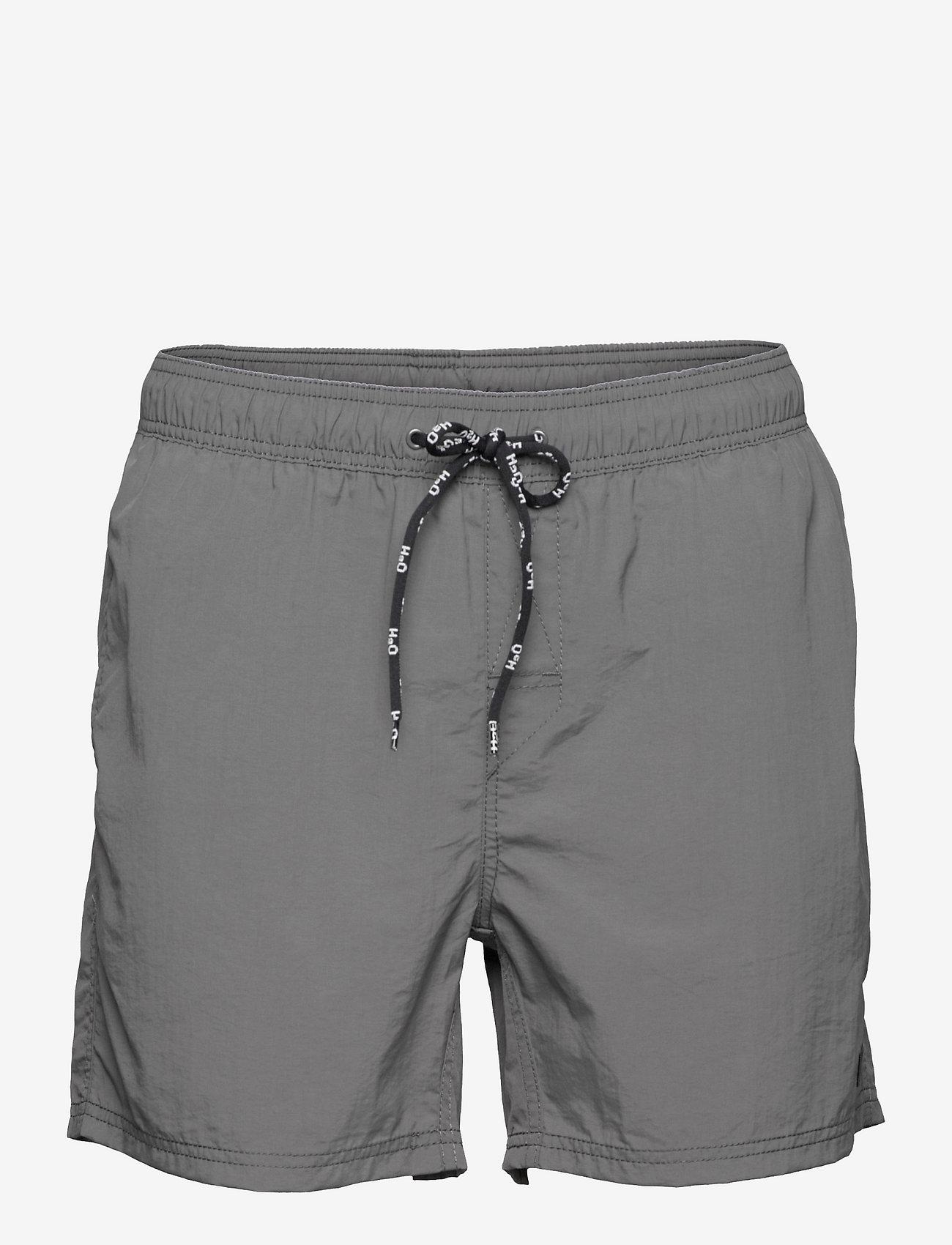 H2O - Leisure Swim Shorts - uimashortsit - dark grey - 0
