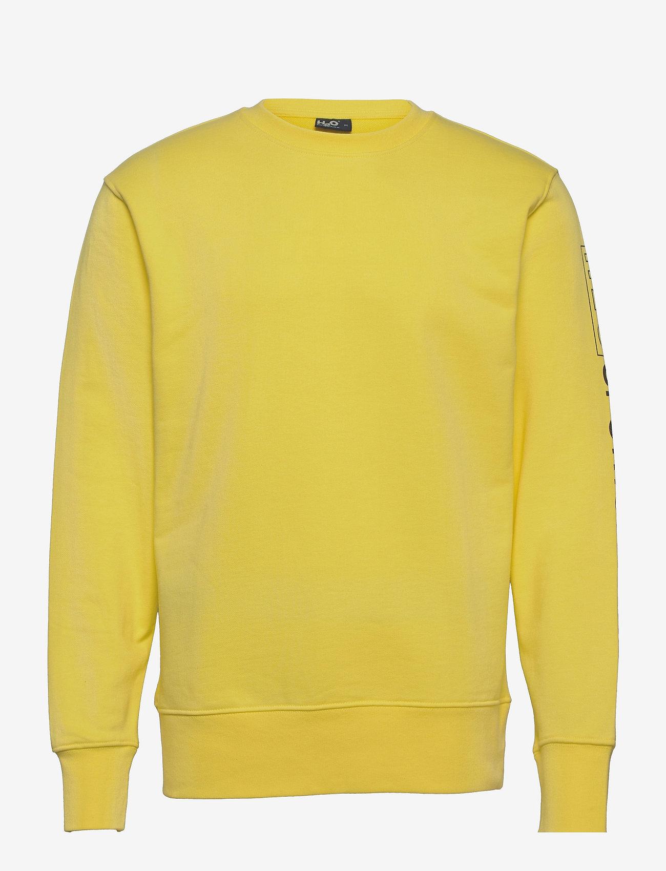 H2O - Anholt Sweat O'neck - yläosat - light yellow - 0