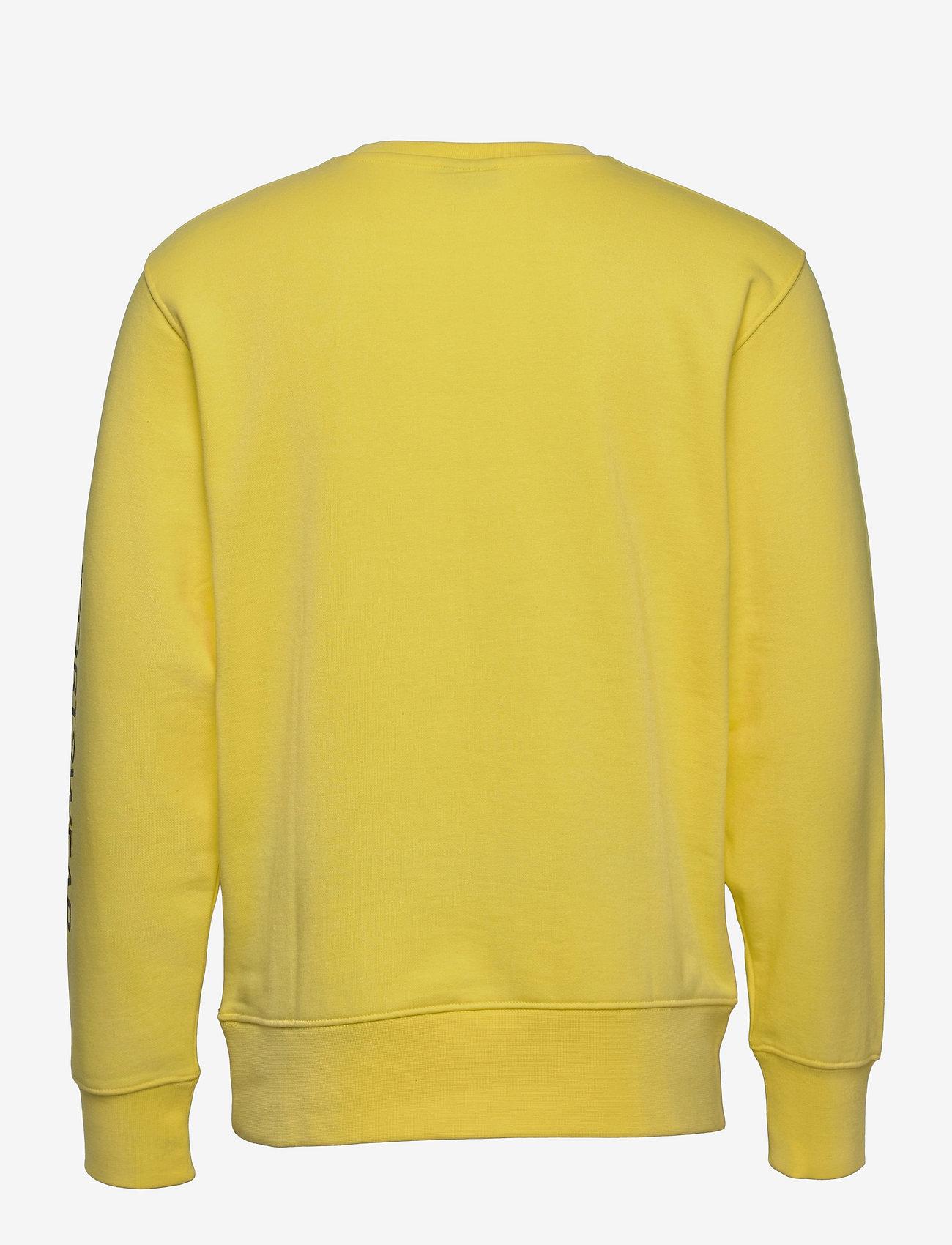 H2O - Anholt Sweat O'neck - yläosat - light yellow - 1