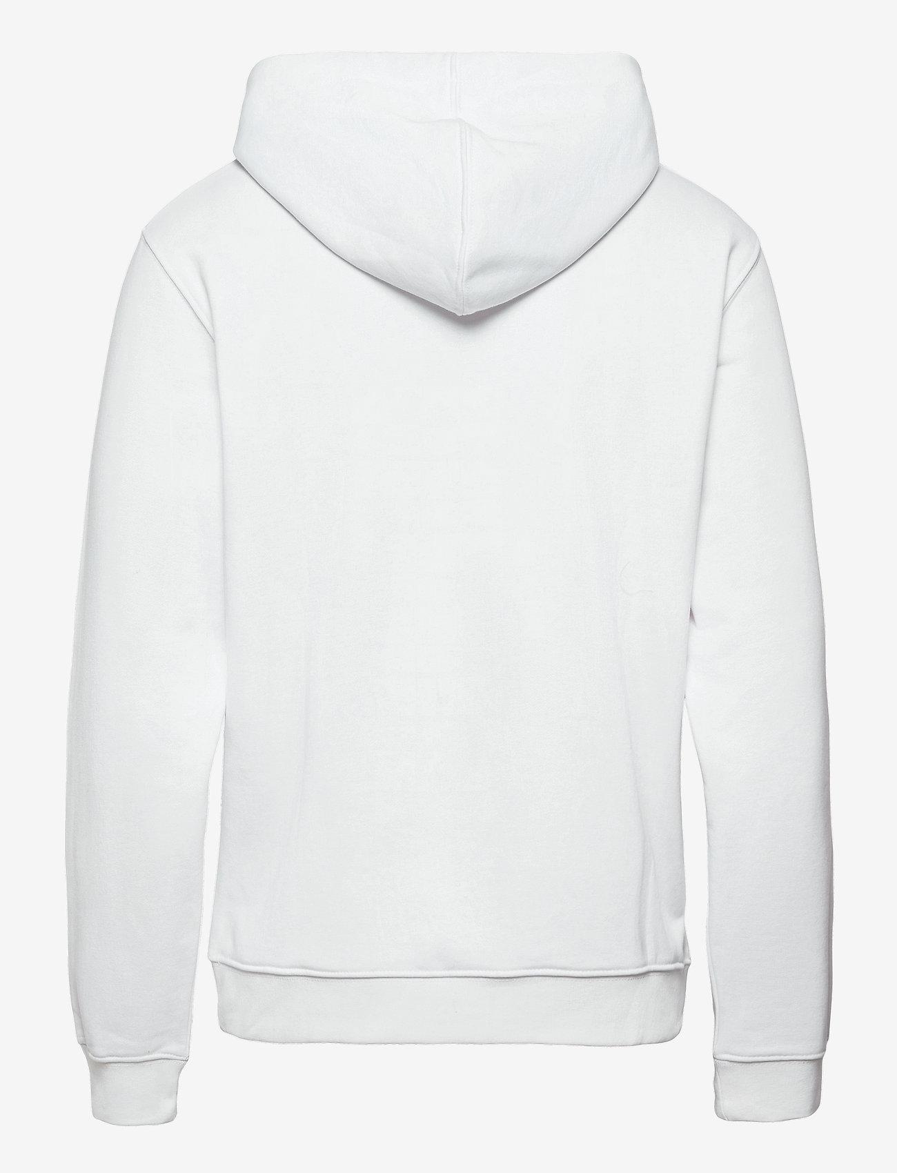 H2O - Mandø Hooded Sweat - hupparit - white - 1