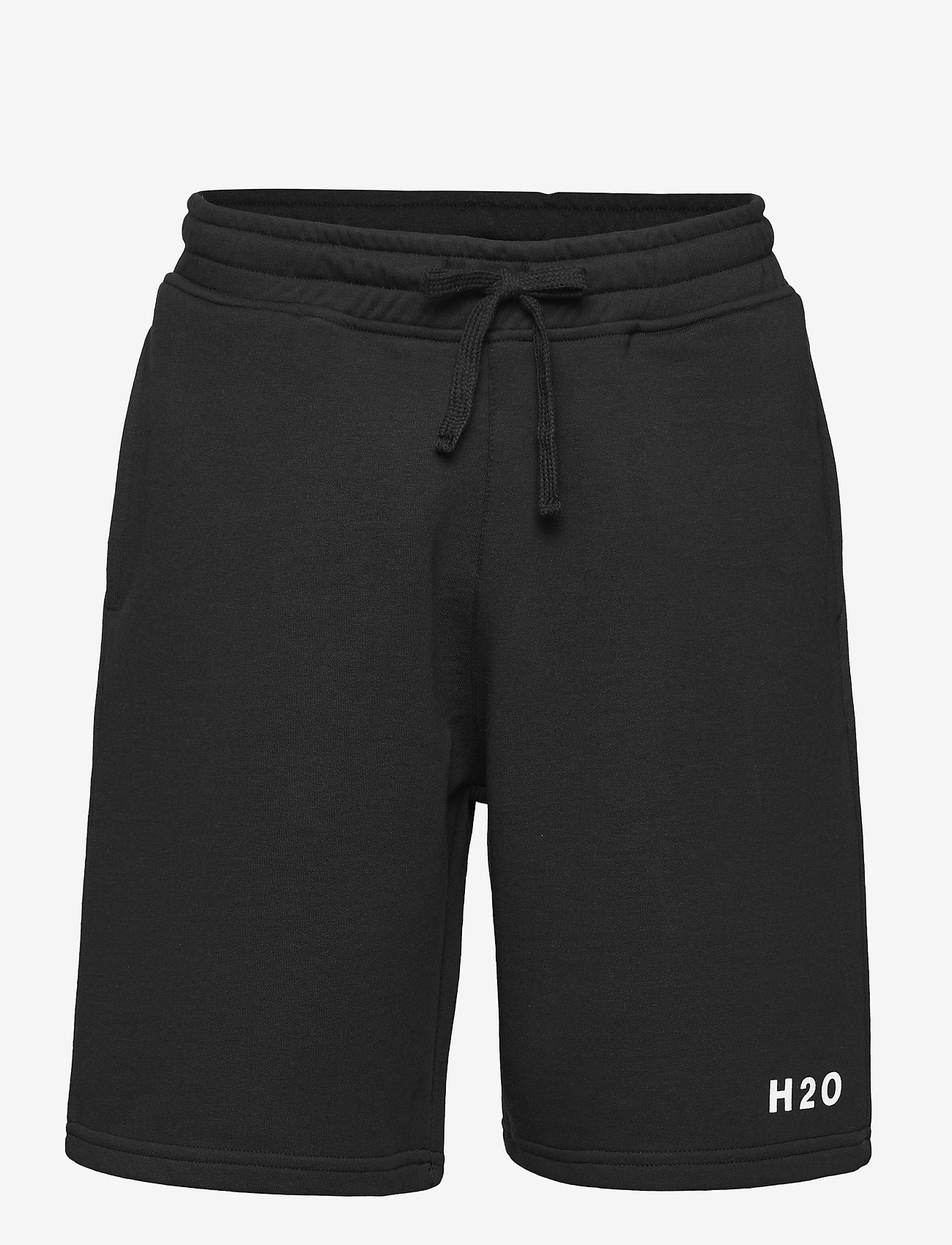 H2O - Lolland Sweat Shorts - rennot - black - 0