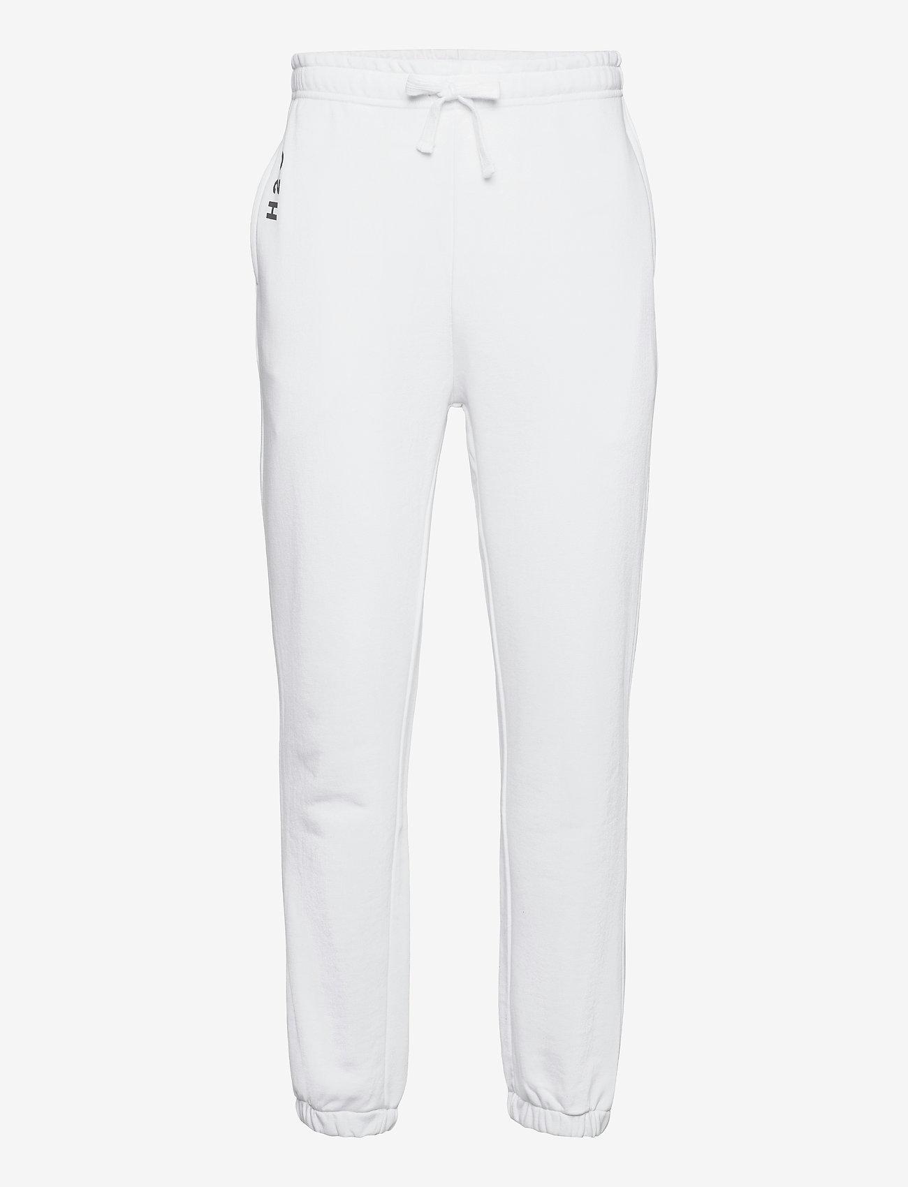 H2O - Lolland Sweat Pant - collegehousut - white - 0