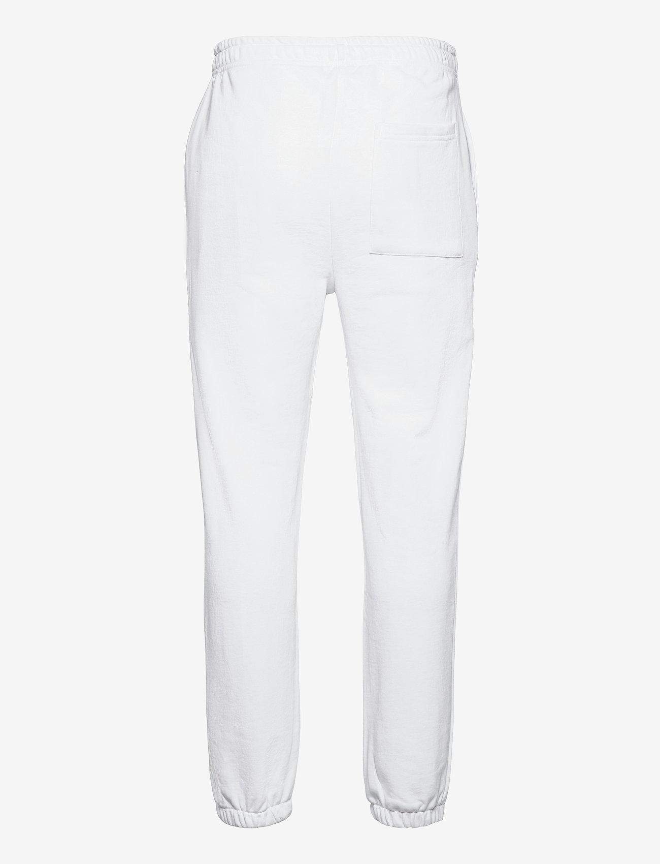 H2O - Lolland Sweat Pant - collegehousut - white - 1