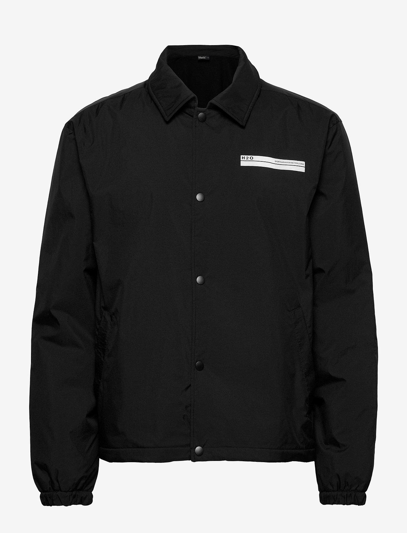 H2O - Falster Coach Jacket - vindjakker - black - 0