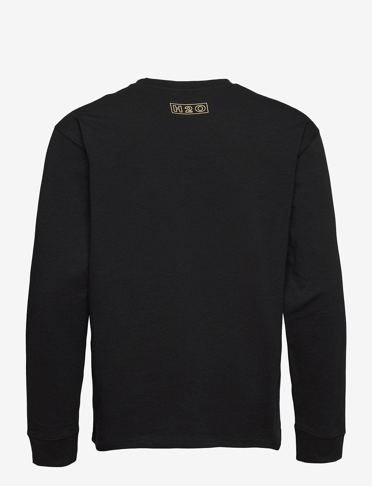 H2O - Romø Tee L/S - langærmede t-shirts - black - 1