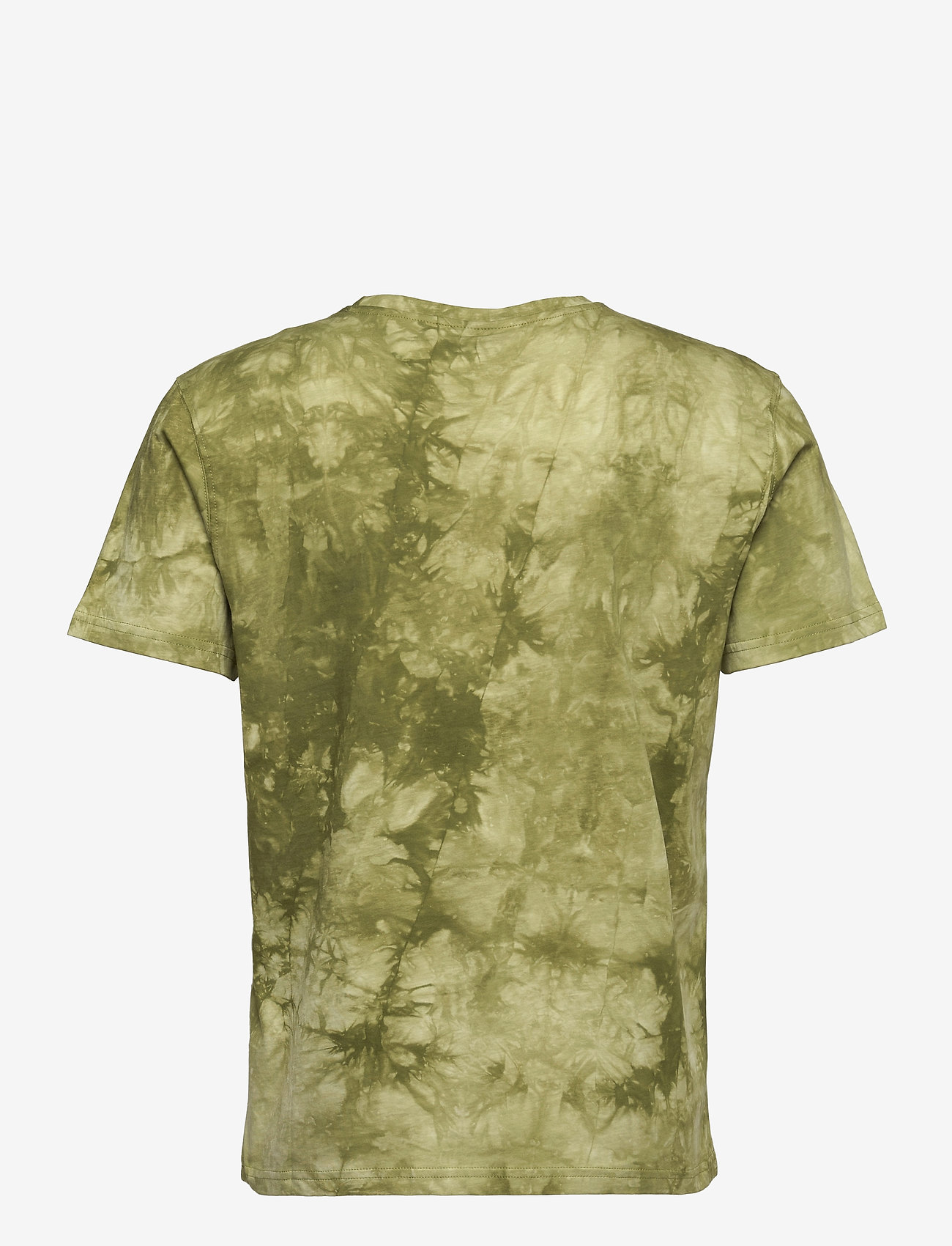 H2O - Ribe Tie Dye Tee - kortærmede t-shirts - army avocado - 1