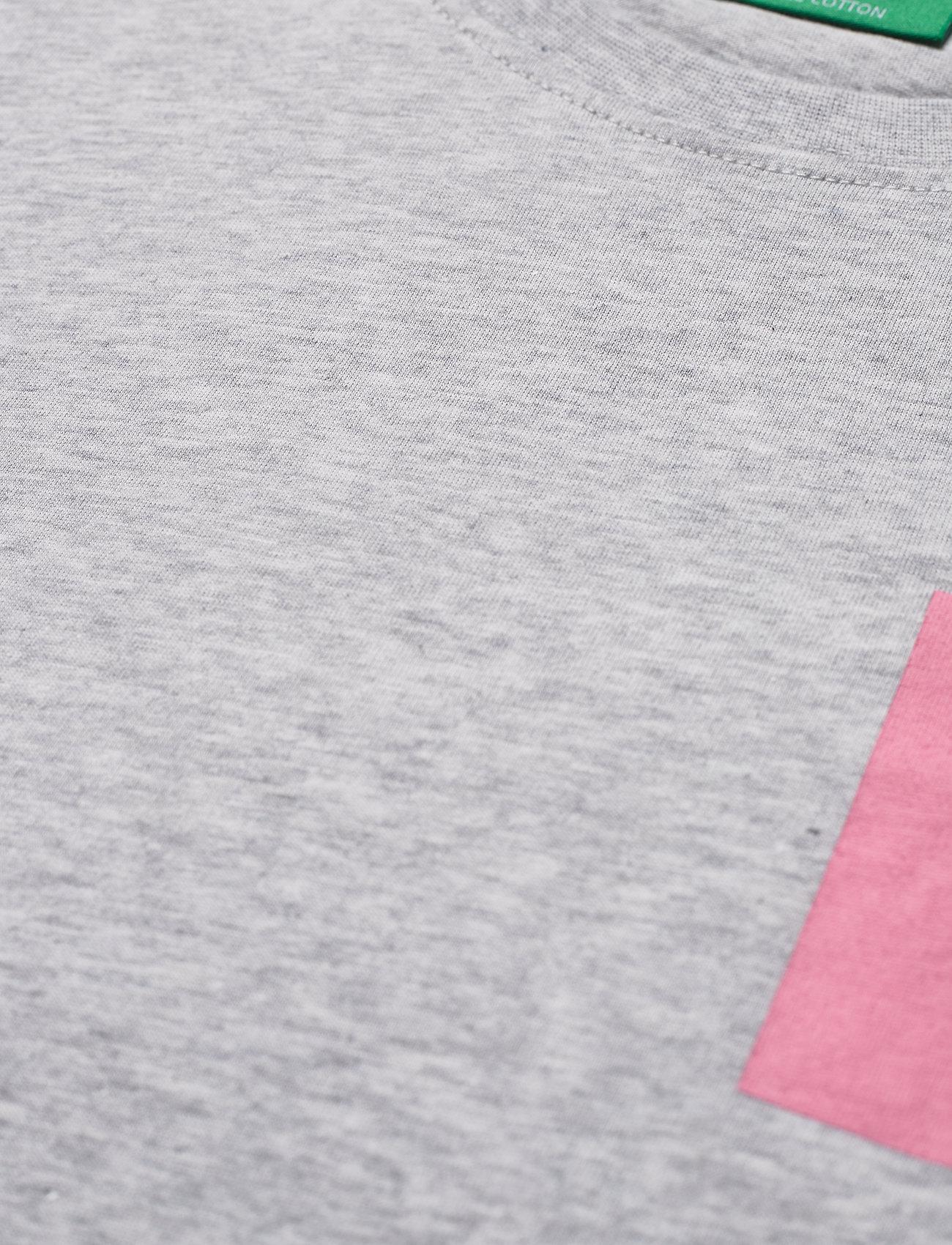 H2O - Lyø Organic Tee - podstawowe koszulki - lt. grey mel/sachet pink - 2