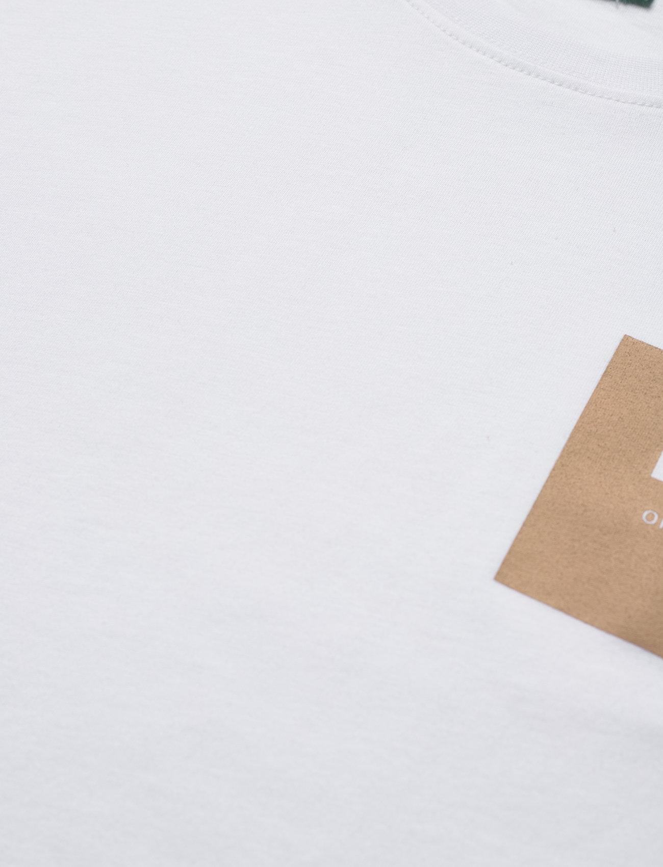 H2O - Lyø Organic Tee - podstawowe koszulki - white/sand - 2