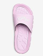 H2O - Trek Sandal - pool sliders - light pink/white - 3
