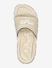 H2O - Trek Sandal - pool sliders - sand/white - 3