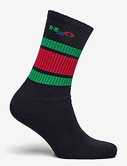 H2O - Crew Sock - tavalliset sukat - navy/green/red - 1