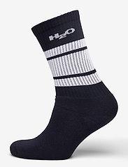 H2O - Crew Sock - sokker - navy/white - 0