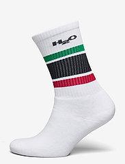 Crew Sock - WHITE/GREEN/RED/NAVY