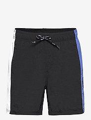 H2O - Hornbæk Shorts - rennot shortsit - navy/white/royal blue - 0