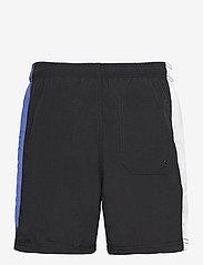 H2O - Hornbæk Shorts - rennot shortsit - navy/white/royal blue - 1