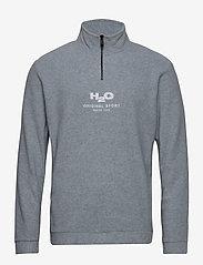 H2O - Blåvand Fleece Half Zip - lange mouwen - lt. grey mel - 0