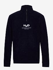 H2O - Blåvand Fleece Half Zip - langærmede - navy - 0