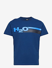 H2O - Skagen Tee - lyhythihaiset - lt. navy/blue/navy - 0
