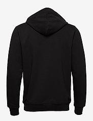 H2O - Absalon Hooded Sweat - hættetrøjer - black - 1