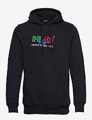 H2O - Absalon Hooded Sweat - hættetrøjer - navy - 0