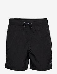 H2O - Leisure Swim Shorts - badebukser - black - 0