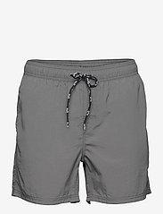 Leisure Swim Shorts - DARK GREY