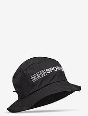 H2O - Omø Tech Bucket Hat - bucket hats - black - 0