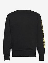 H2O - Anholt Sweat O'neck - perus-college-paitoja - black/vibrant yellow - 0