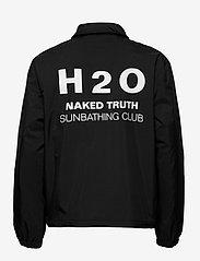H2O - Falster Coach Jacket - vindjakker - black - 1