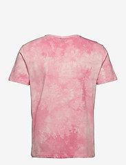 H2O - Ribe Tie Dye Tee - lyhythihaiset - sachet pink - 1
